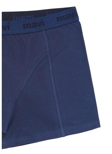 Mavi  Basic Boxer Mavi
